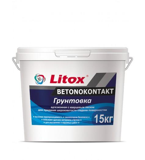 Грунтовка Бетоноконтакт LITOX  15кг