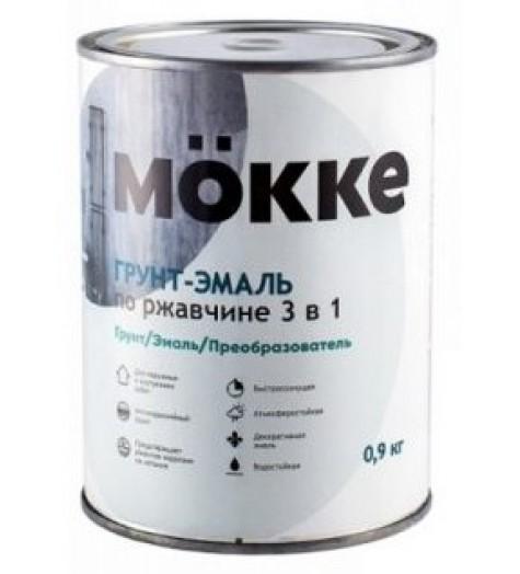 Грунт-эмаль 3в1 MOKKE белый 1,9 кг