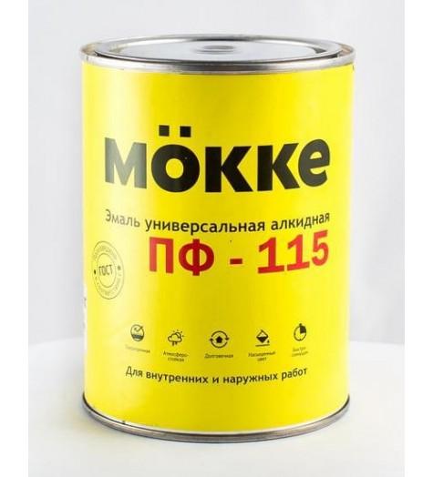 Эмаль алкид. ПФ-115 MOKKE желтый 1,9 кг