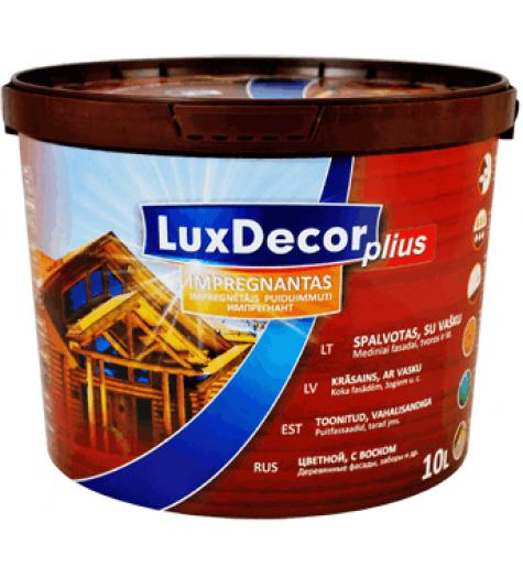 Пропитка д/дерева LUXDECOR Plus пиния 10л