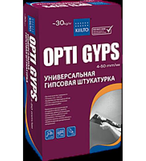 Штукатурка гипсовая OPTI GIPS 30кг