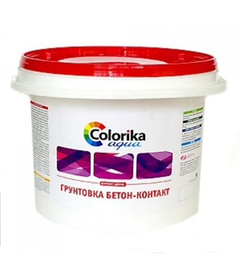 Грунтовка Colorika Aqua бетон-контакт 3кг