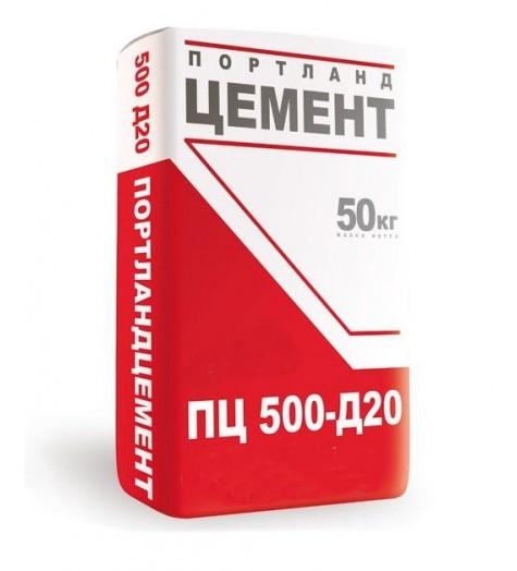 Цемент ПЦ 500 Д20 LEHO 50кг