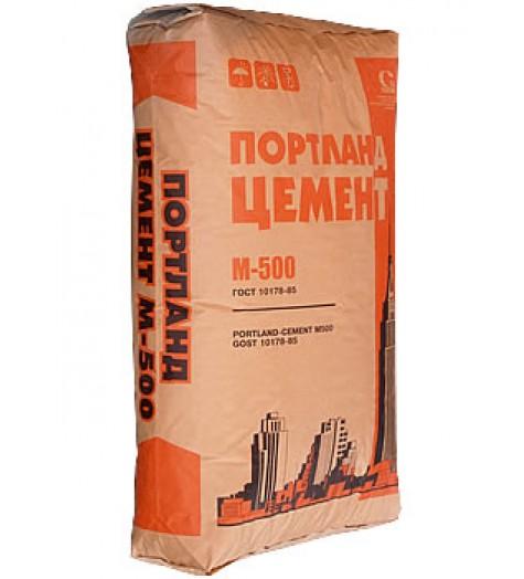 Цемент ПЦ 500 - Д20  50кг